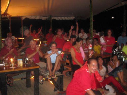 Tonga Beating France