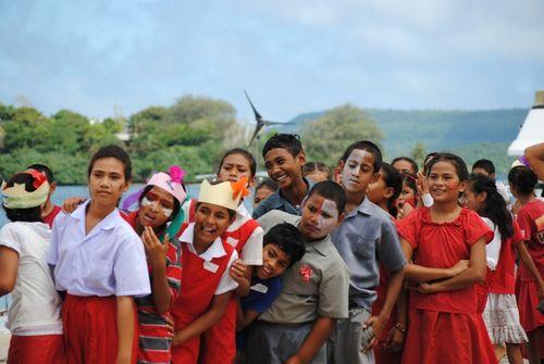 Cheering On Tonga