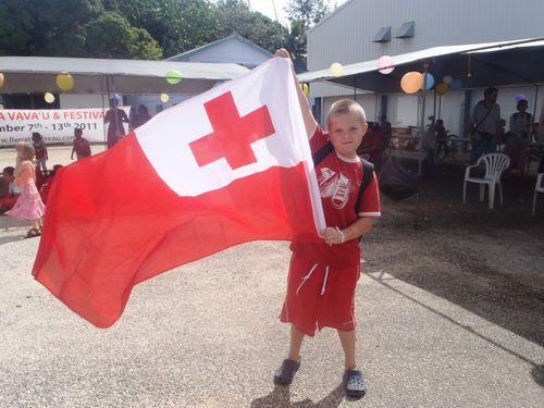 A Tonga Fan