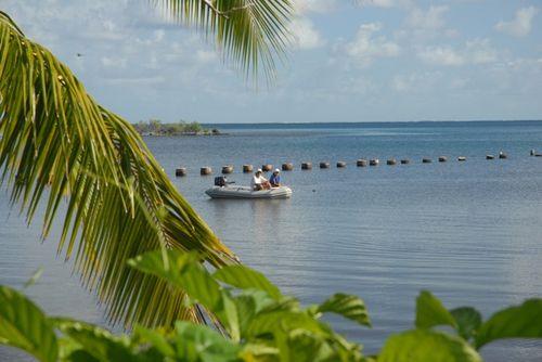 Coming Ashore in Baie Pueheru