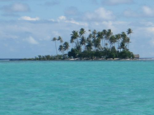 A Beautiful Little Tropical Island